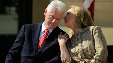 the clintons being sneaky