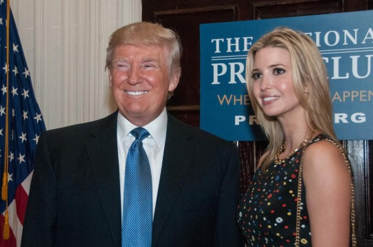 Editorial-Use-Donald-Trump-Ivanka