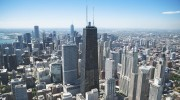 Chicago-City-Landscape-Ariel-View