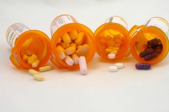 Multiple-Prescription-Bottled-Drugs-Pills